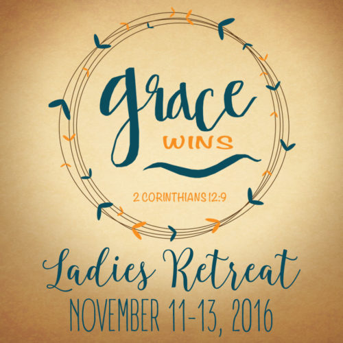 2016 GRACE WINS RETREAT