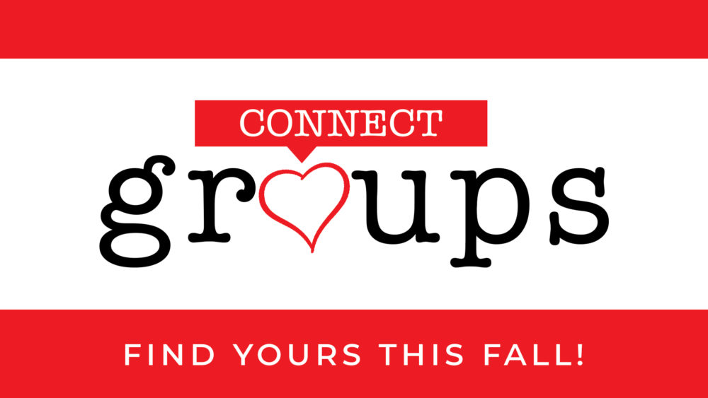 FALL CONNECT GROUPS